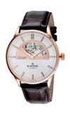 Швейцарские часы Edox 85014 37R AIR Коллекция Les Vauberts Open Heart Automatic