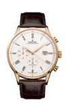 Швейцарские часы Edox 91001 37R AR Коллекция Les Vauberts Chronograph Automatic