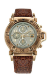 Японские часы Nexxen NE10902CHM RG/SIL/BRN Коллекция Anold 10902
