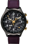 Европейские часы Timex T2N931 Коллекция Intelligent Fly-Back Chronograph