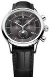 Швейцарские часы Maurice Lacroix LC1148-SS001-331 Коллекция Les Classiques Phase De Lune Chrono