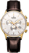 Швейцарские часы Edox 10408 37J AID Коллекция Les Vauberts Chronograph