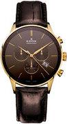Швейцарские часы Edox 10408 37JG GID Коллекция Les Vauberts Chronograph