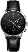 Швейцарские часы Edox 10408 3N NIN Коллекция Les Vauberts Chronograph