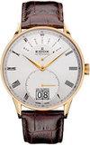 Швейцарские часы Edox 34005 37JA AR Коллекция Les Vauberts Day Retrograde