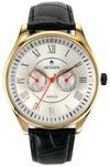 Японские часы Nexxen NE12801M GP/WHT/BLK Коллекция Anold 12801