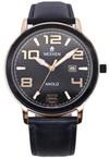 Японские часы Nexxen NE12803M RG/BLK/BLK/BLK Коллекция Anold 12803
