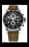 Японские часы Nexxen NE10902CHM PNP/BLK/BLK/BR Коллекция Anold 10902