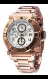 Японские часы Nexxen NE10901CHM RG/SIL Коллекция Anold 10901