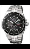 Японские часы Casio EF-340SB-1A1VEF Коллекция EF-340