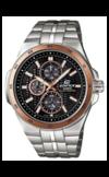 Японские часы Casio EF-340SB-1A5VEF Коллекция EF-340