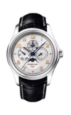 Швейцарские часы Jean Richard 80112-53-11A-AA6 Коллекция Bressel 1665 Perpetual Calendar