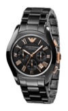 Fashion часы Armani AR1410 Коллекция Ceramic Chronograph 3