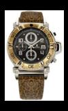 Японские часы Nexxen NE10902CHM 2T/BLK/BRN Коллекция Anold 10902