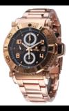 Японские часы Nexxen NE10901CHM RG/BLK Коллекция Anold 10901