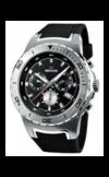 Швейцарские часы Seculus 4488.2.503 black, ss tr-silver, silicon black Коллекция 4488