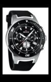 Швейцарские часы Seculus 4488.2.503 black, ss tr-ipb silver, silicon black Коллекция 4488