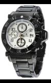 Японские часы Nexxen NE10901CHM BLK/SIL Коллекция Anold 10901