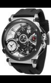 Швейцарские часы Seculus 4500.2.504 white-black, ss-ibp, silicon Коллекция Fausto