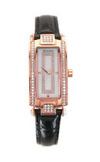 Японские часы Nexxen NE12501CL RG/BLK/WHT Коллекция El Bizou 12501