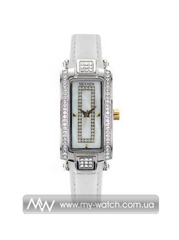 Часы NE12501CL 2T/SIL/WHT