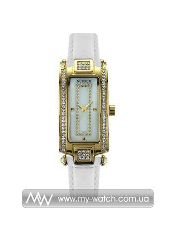 Часы NE12501CL GP/SIL/WHT