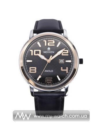 Часы NE12803M PNP/RG/BLK/BLK