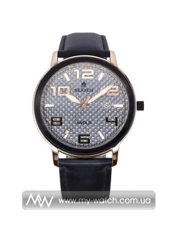 Часы NE12803M RG/BLK/WHT/BLK