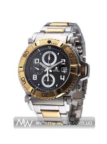 Часы NE10901CHM 2T/BLK