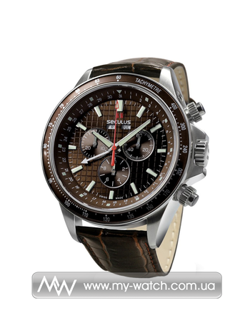 Часы 9531.2.504 brown, ss, brown leather